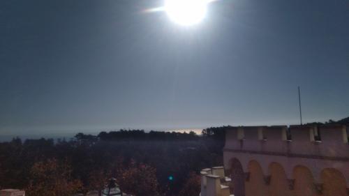 標高529Mなので眺望はすこぶる良い。