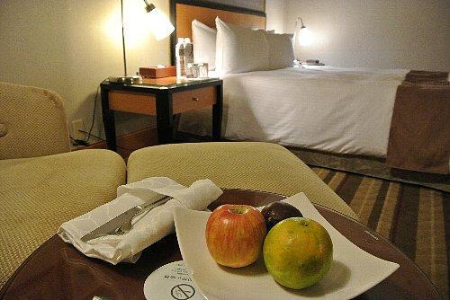五つ星ホテルなのでシングルはなく、私はダブルの部屋に一人で泊まりましたが、1泊1万円しませんでした。