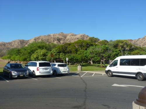 登山口入り口までは、タクシーやマイカーでは入れる