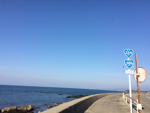 12月とは思えないほどポカポカ暖かくて、コートを脱いで海を眺めていました。<br /><br />風が無かったからかもしれません。<br />海がとても穏やかでした。
