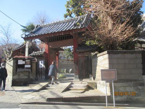 善光寺坂のお寺、文京区はお寺が沢山あります。
