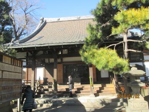 ここは七福神のお寺ではありません。