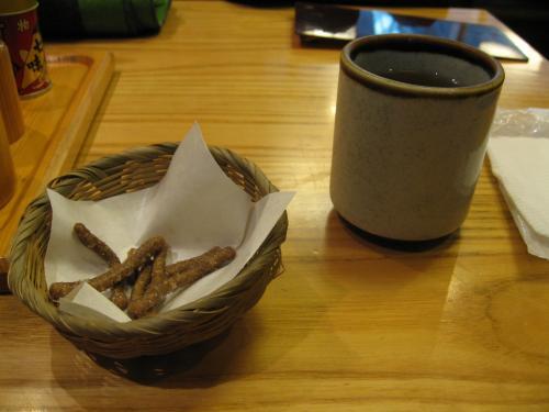 そば茶とそばかりんとう