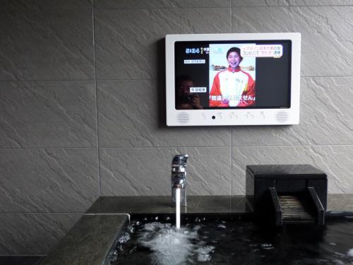 熱いのでうめましたが、なかなか冷えず <br /><br />後にフロントでその話をしたところ、次回ミシマ様は温泉の設定を下げておきますと、パソコンに入力していて好印象
