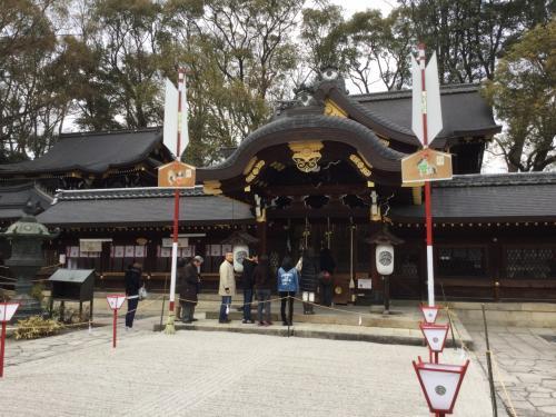 その後、タクシーで今宮神社へ。