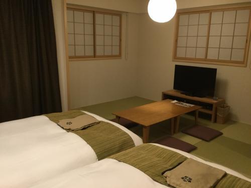 和洋室の広くてキレイなお部屋。