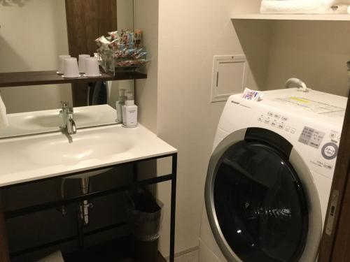 ドラム式洗濯機もありました。