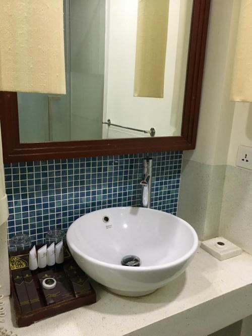 独立洗面台は2つありました。