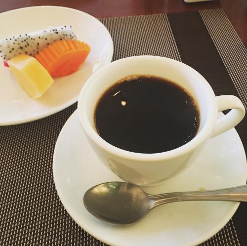 デザート。<br />普段あまりフルーツを食べませんが、ホテルに泊まると手を出したくなります。