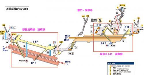 地下鉄の出口は、東京メトロの3番出口か、都営地下鉄のA4、A5出口が近いようです。