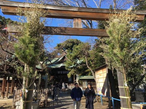 次は一心寺近くの荏原神社です。<br />こちらで4つ目の印をもらいました。