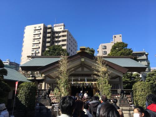 次からは少し遠くなります。<br />立会川駅近くの天祖諏訪神社です。<br />こちらで6つ目の印をもらいました。