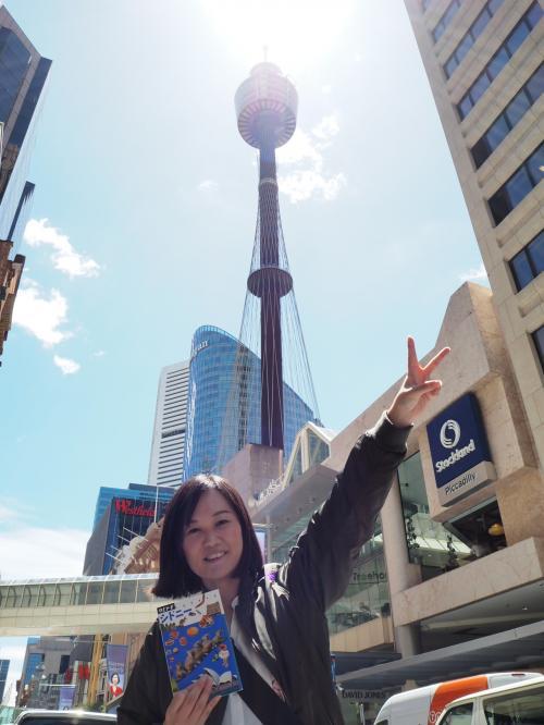 シドニータワーは街の中心にあって街のシンボルにピッタリ!