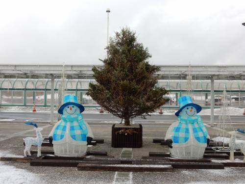 朝7時50分の便で羽田から函館へ。<br /><br />函館は意外に雪がなかったです。<br />この時は・・・