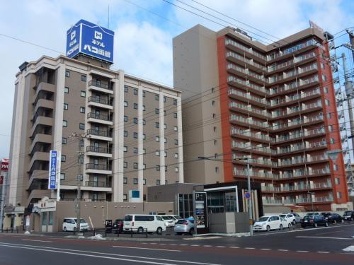 初日の宿泊先である「ホテルパコ函館」に荷物を置いて、街を散策します。<br />なんと、1泊3500円で天然温泉も入れる、ボーナスプランでした。