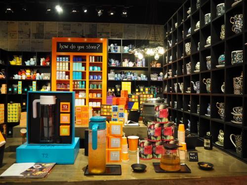 友達おすすめのT2。紅茶の専門店です。