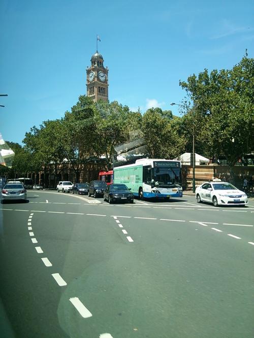 シドニーセントラルステーション。シドニー市庁舎の時計台ではありません笑。間違えちゃいそうですね