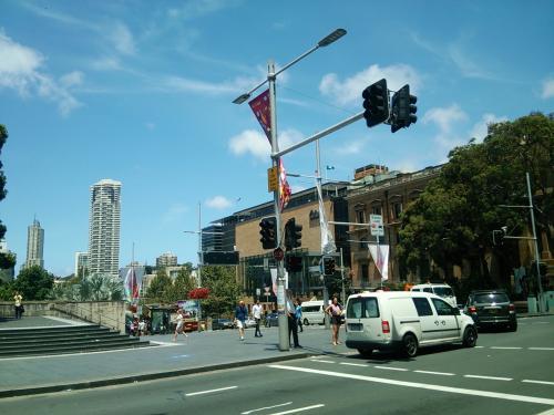 何気ないシドニーの街中も絵になりますね