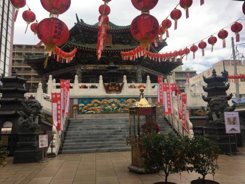 横濱媽祖廟!