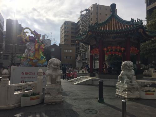 山下町公園!<br />中国っぽい趣の公園です。