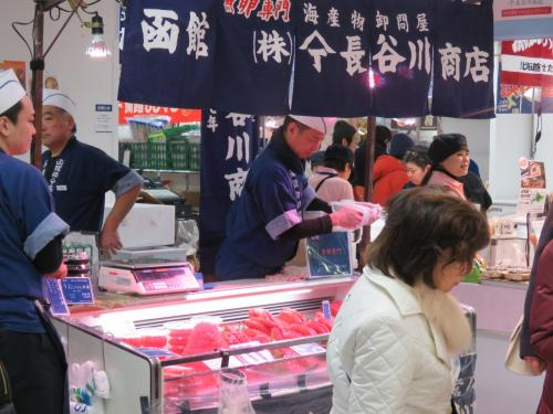 函館 ㈱長谷川商店 漁卵専門 いくら