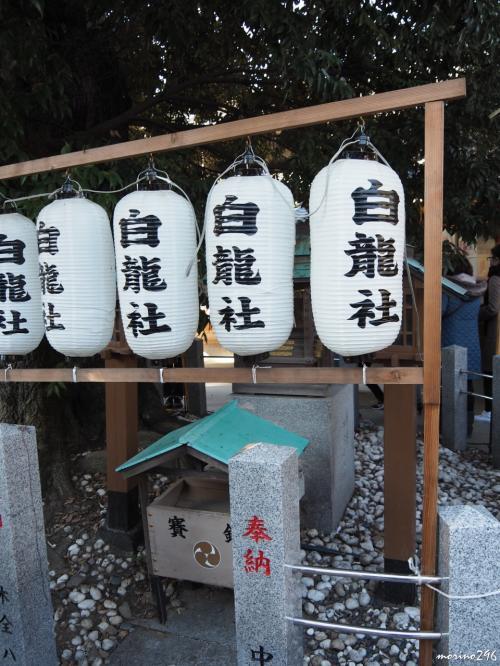 伊奴神社 白龍社<br /><br />御神木である樹齢約800年の椎の木には、<br />いつの頃からか白蛇が棲んでおり、<br />金運招来・心願成就の神様として崇められています。<br />