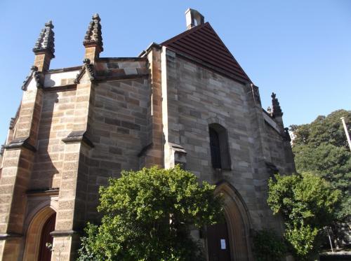 「ホーリートリニティ・チャーチ」 英国の植民地時代に作られた教会。<br /><br /> 砂岩で出来た外観が美しいです。