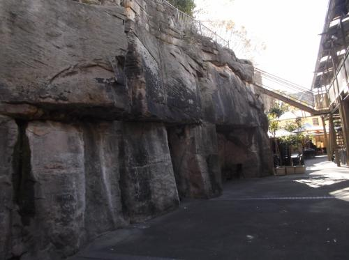 これって、ロックス!!  大きな岩です。