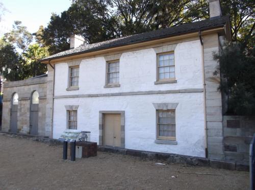 「カトマンズハウス」 1816年。  国内最古の船舶監視小屋です。