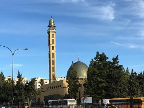 ヨルダン大学のモスクです。