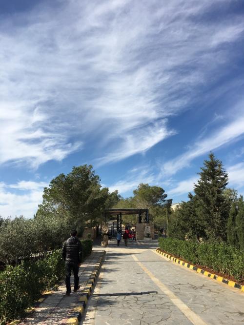 聖ジョージ教会の後は、ネボ山にやってきました。<br />最終日は晴天に恵まれて良かったです。