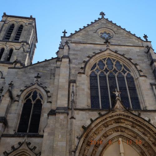 Basilique St-Seurin 世界遺産にも1998年に登録されています。素敵な場所でした。