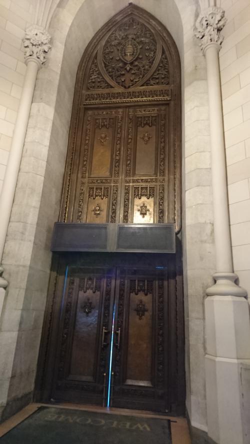 セントパトリック大聖堂 正面玄関