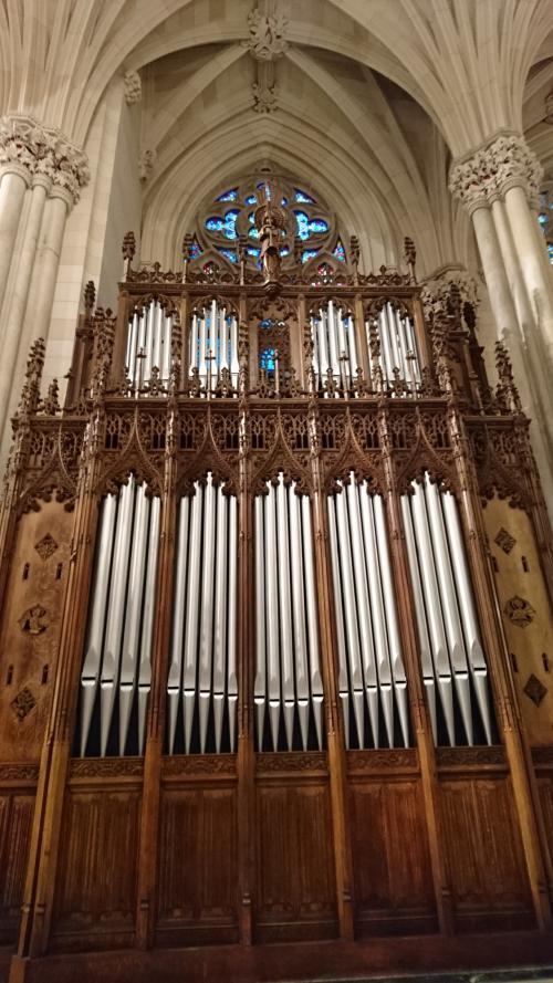 セントパトリック大聖堂 サイドパイプオルガン