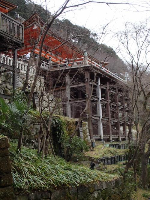 清水寺脇。