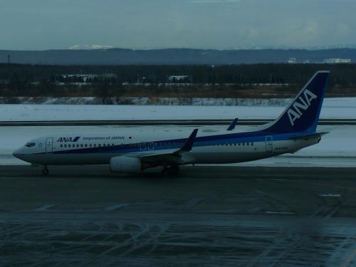 ラウンジで寛いでいると今日お世話になる機体が到着しました<br />ここまで今年はB737-800しか乗っていない <br />そろそろほかの機体にも乗りたいです<br />