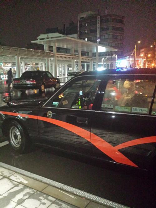 自宅から福井駅までタクシーで<br /><br />1210円