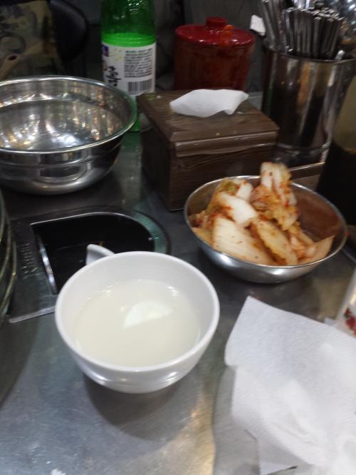 初日1食め有名店の<br /><br />チンオクファタッハンマリで<br /><br />タッハンマリ\(^o^)/