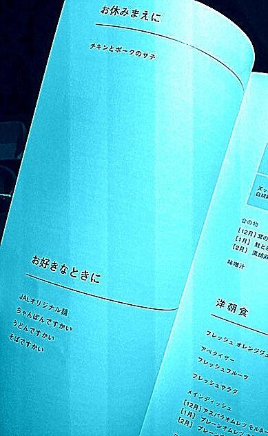 【2017年12月25日(月)-25日】<br /><br />■JAL033便 0:05-5:50 羽田→バンコク行き<br /><br />メニューを開くと....内容薄っ!!......やっぱ、5-6時間程度のフライトでは、なんにもない......のね.......カップヌードルしか無いんかい~!?<br /><br />北米路線・欧州路線との違いに愕然とする(共に2倍の12時間路線なんで、当たり前だけど....)<br />