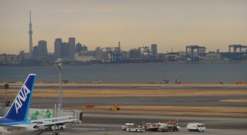 『行ってよかった!日本の展望スポットランキング』に毎回登場する、<br />羽田空港第二ターミナル展望デッキ