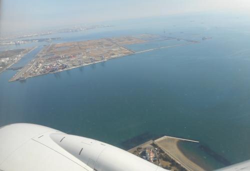 島根県の萩・石見空港へ 15分遅れで無事出発(´∀`*)