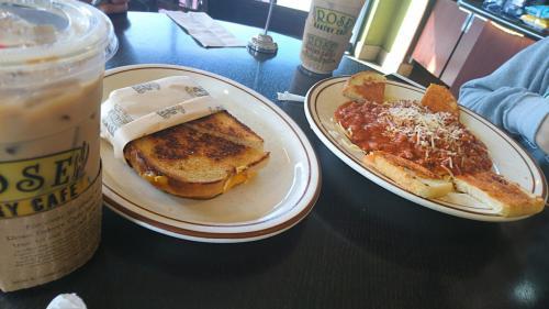 ボロネーゼとチーズのホットサンド
