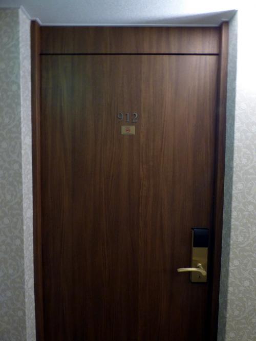 アサインされたのは9階のお部屋