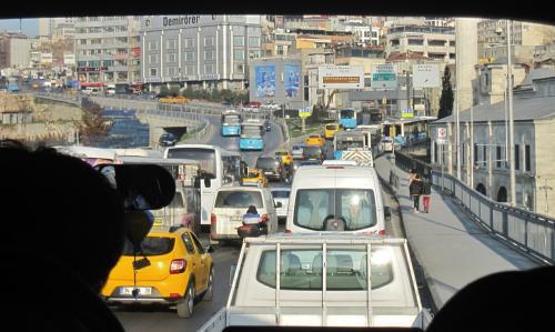 大都会イスタンブールは何処も渋滞が・・・