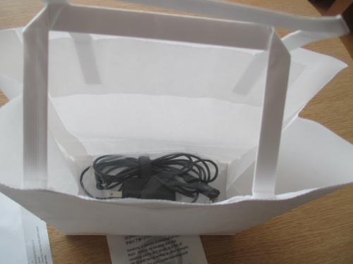 これは、前回部屋に忘れたPCの電源。部屋に置いてあった。このあたりの連携もさすがヒルトン。