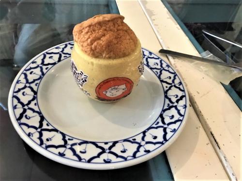Baan rak Amphawa(バーン ラック アムパワー)<br /><br />12月05日(火)  <br /><br />昨日購入した水瓶ケーキを切り分けて
