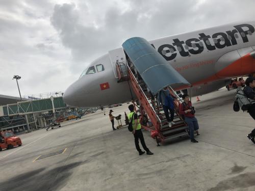 無事に、ベトナム・ダナン空港に到着。