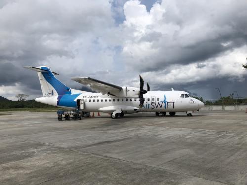 無事、エルニドのリオ空港に定刻通りに到着。