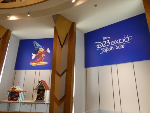 ディズニーストアでは、D23 Expo Japan 2018のグッズが販売されていました。