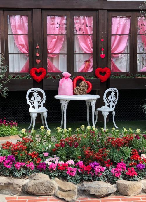 ピンクのグッズとハートマークがいっぱい☆(*'∀'*)☆